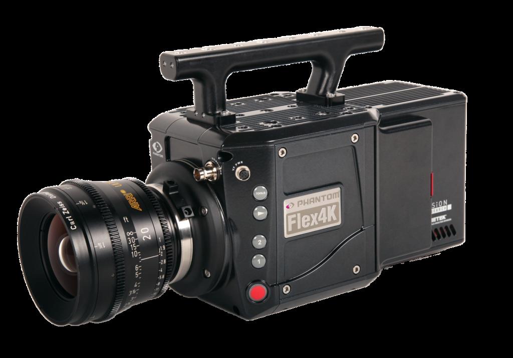 Vysokorychlostní kamery Vision Research Flex4K