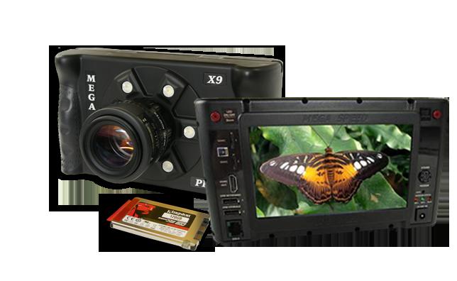MegaSpeed X9 W-Technika vysokorychlostní kamera