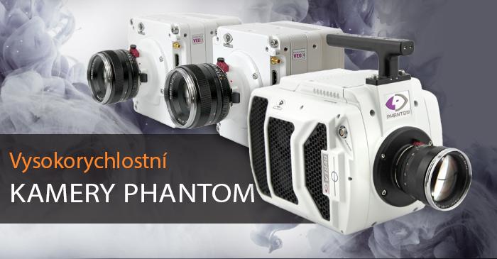 Vysokorychlostní kamery Phantom
