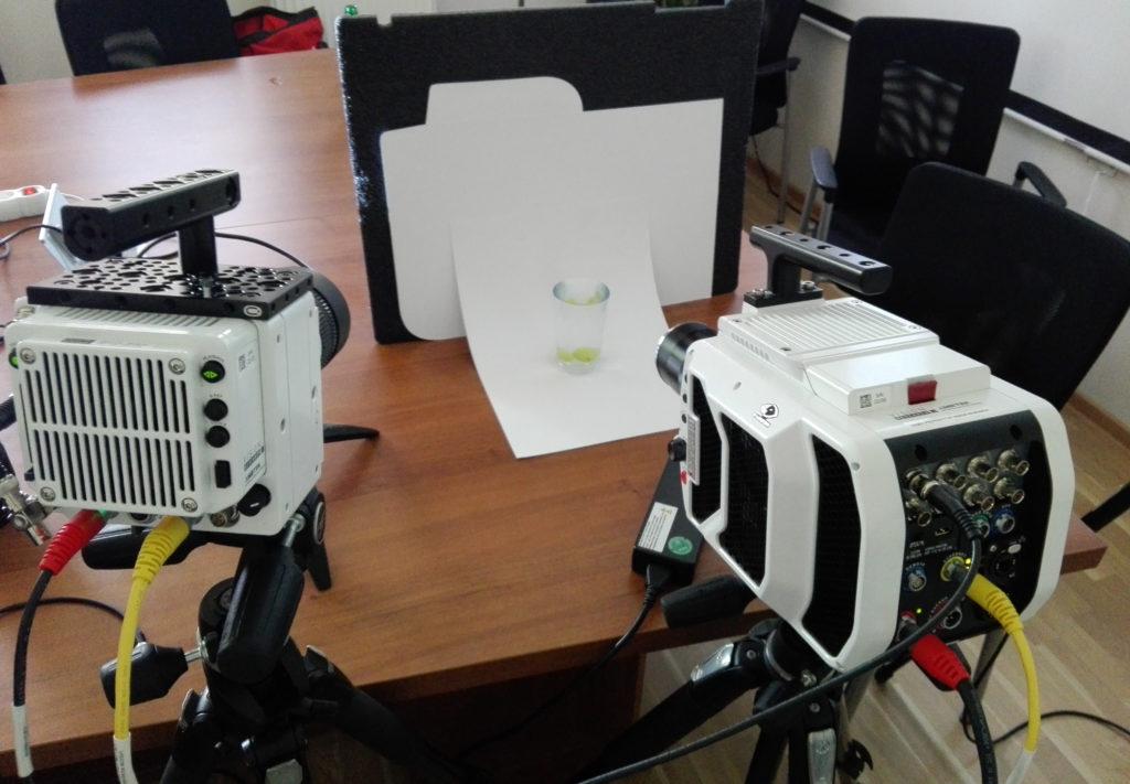 W-Technika vysokorychlostni kamery mereni u zakazanika sluzby